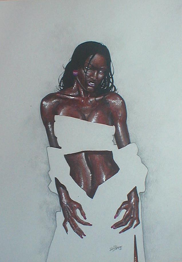 C novel dessins femmes - Dessin africaine ...