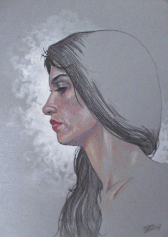 C novel dessins femmes - Visage profil dessin ...