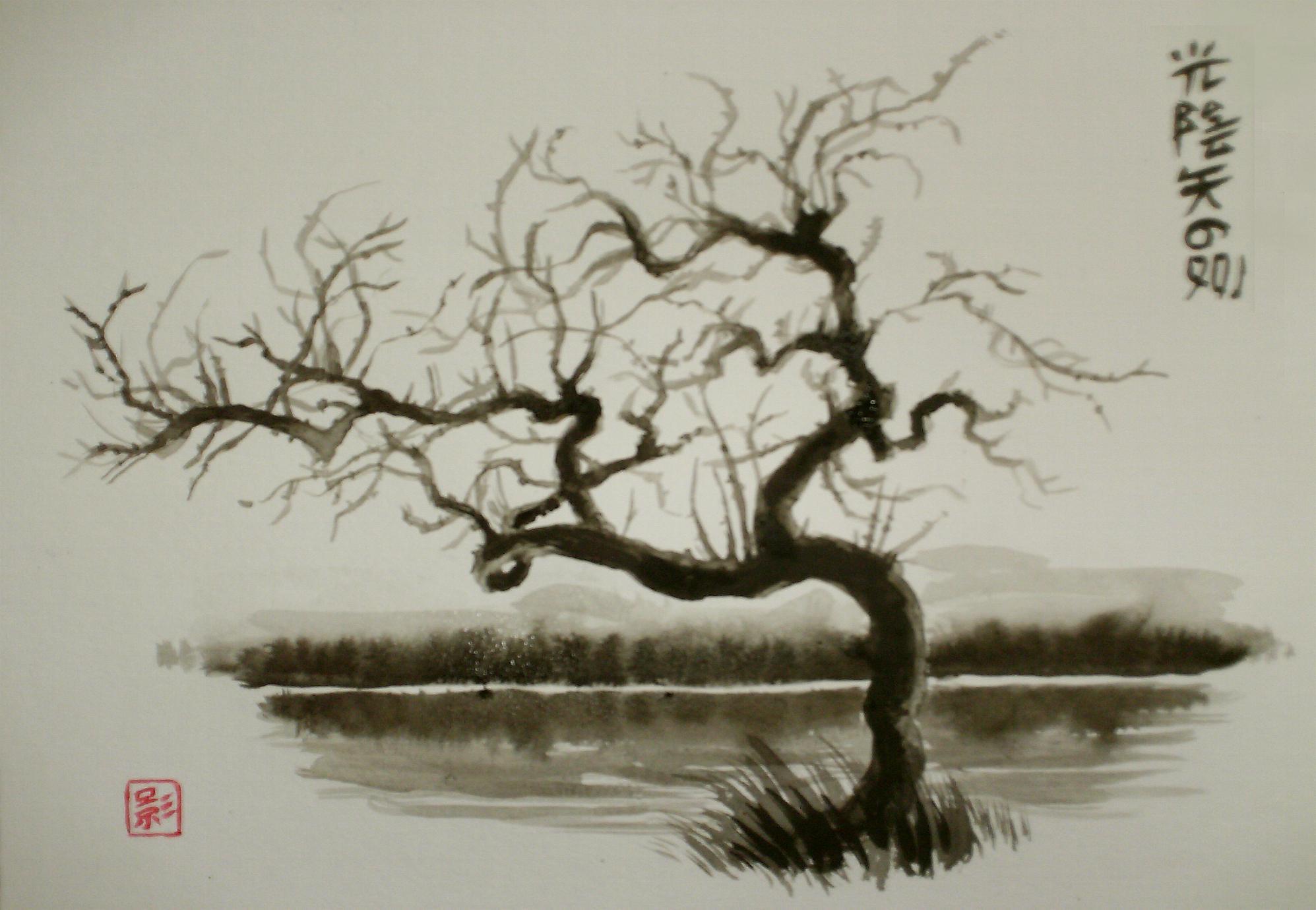 C novel dessins archive du blog arbre - Dessin arbre japonais ...