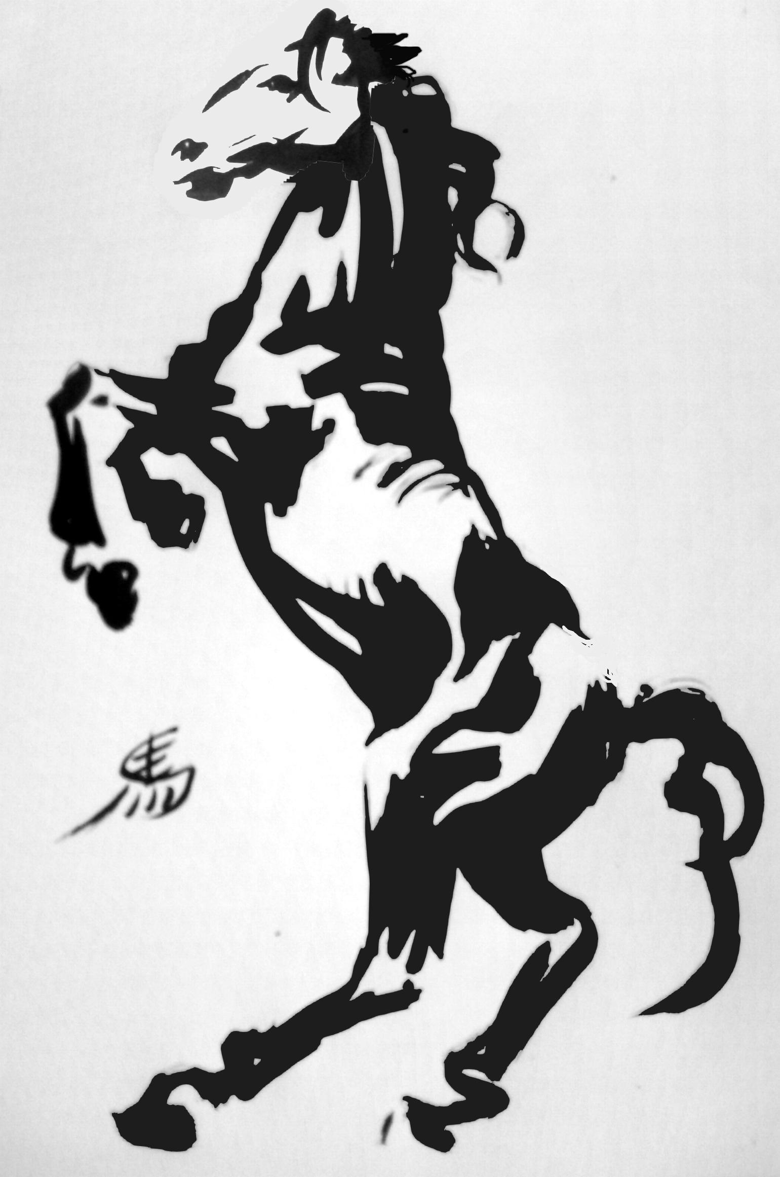 C novel dessins chevaux - Coloriage chevaux ...