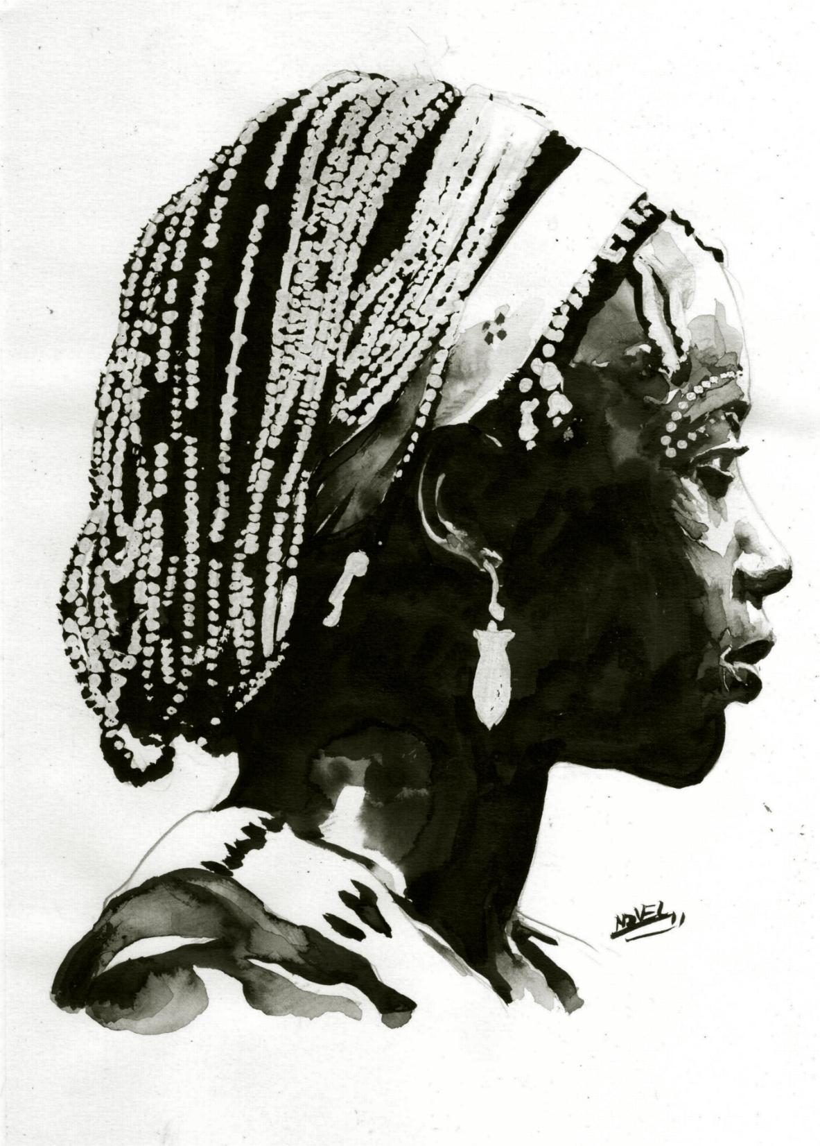 C novel dessins peuples d afrique 3 - Dessin africaine ...