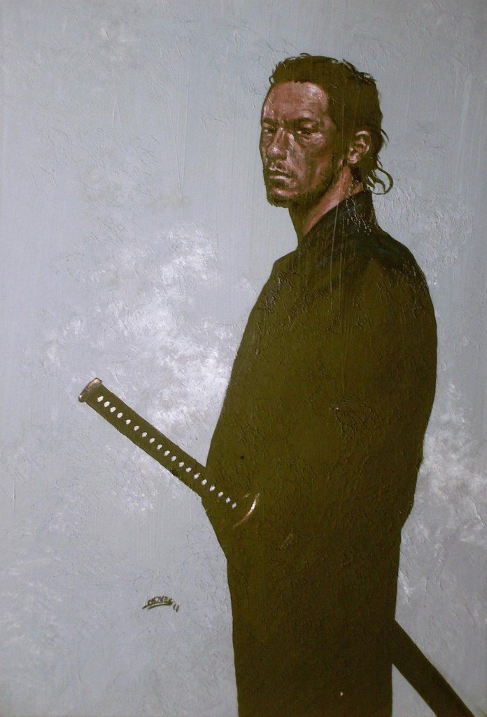 Terasaka Kichiemon, le 47 ème ronin dans hommes de guerre HPIM06531-696x1024