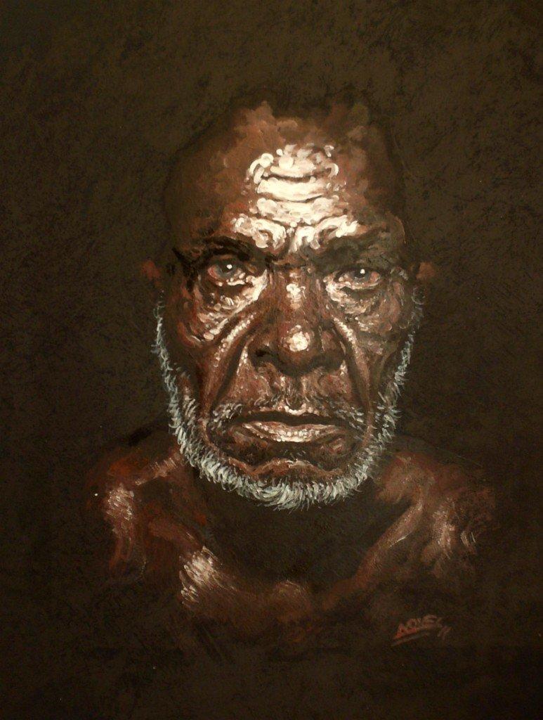Vieil aborigène dans clair-obscur HPIM0661-773x1024