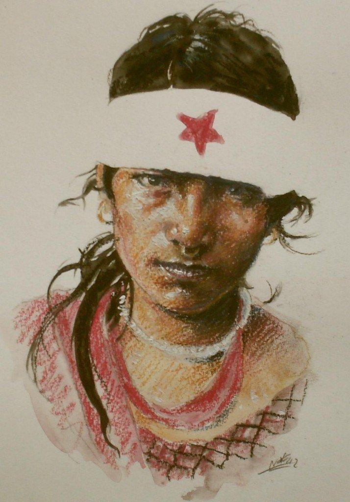 Rebelle népalaise 2 dans peuples d'Asie HPIM0776-714x1024