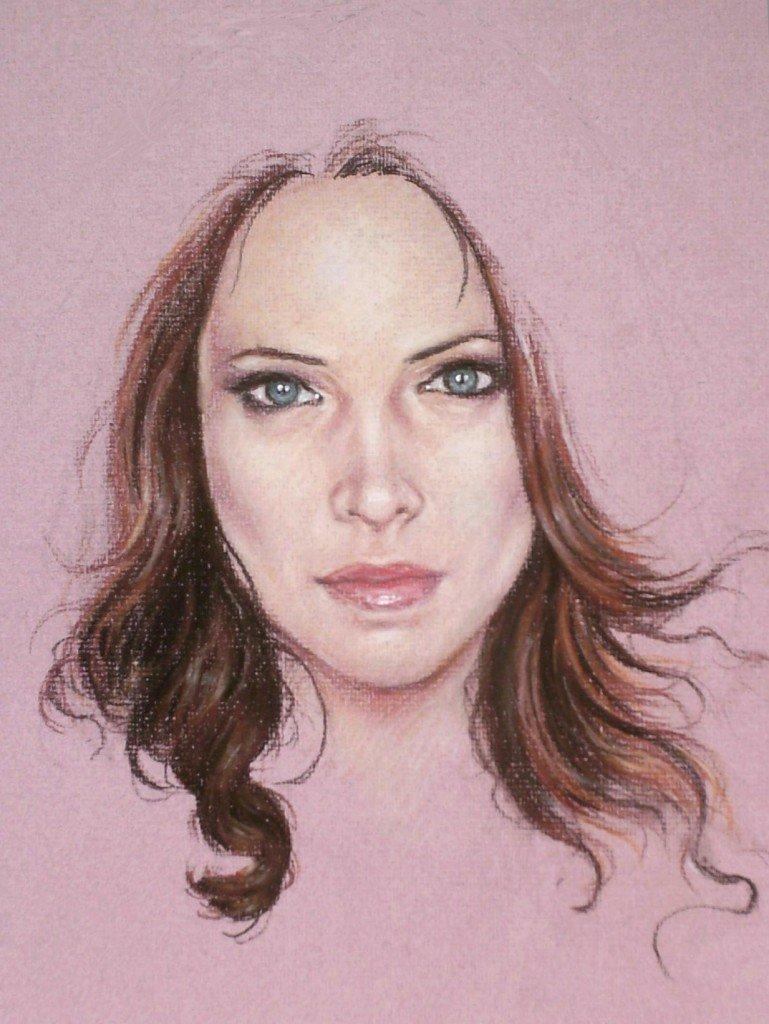 Etude de visage féminin dans femmes 2 HPIM0830-769x1024