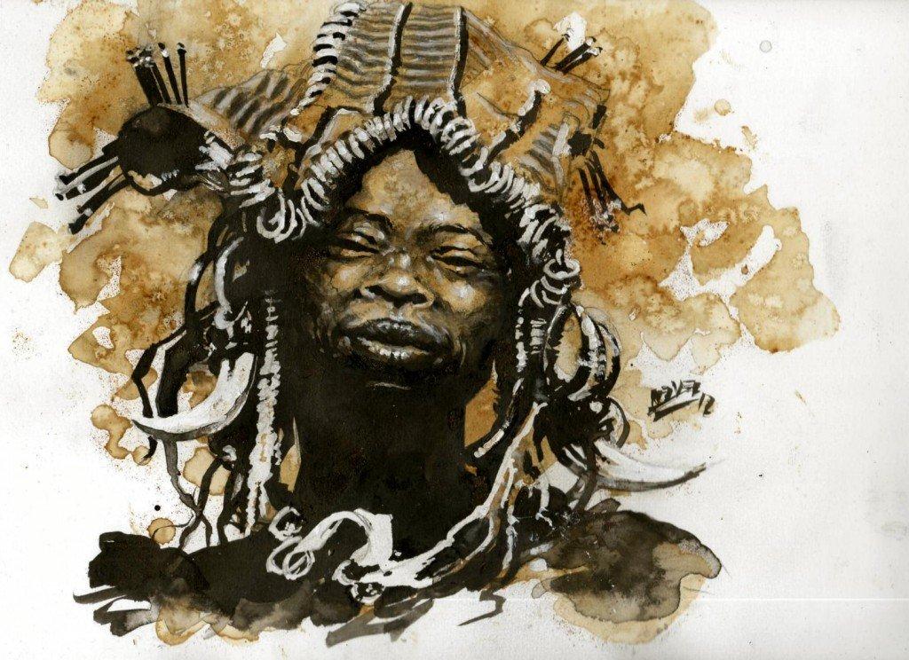 Mursi souriant dans peuples d'Afrique 3 b407-1024x744