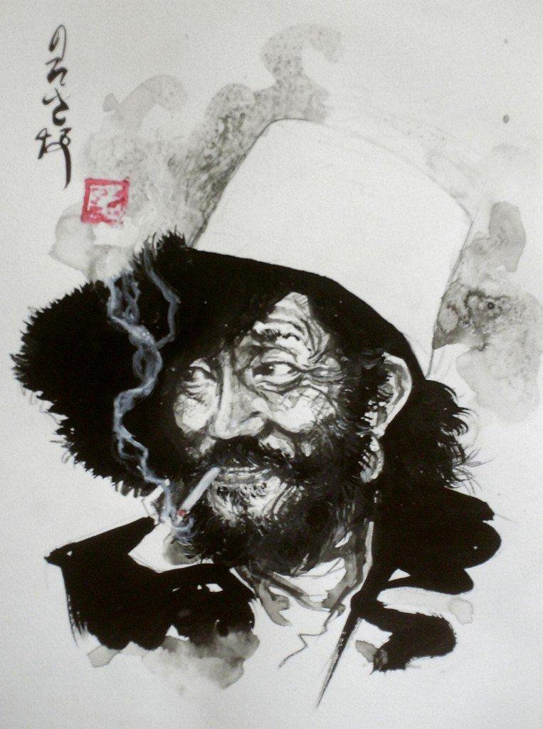 Tibétain espiègle dans Estampes & encres HPIM0912-763x1024
