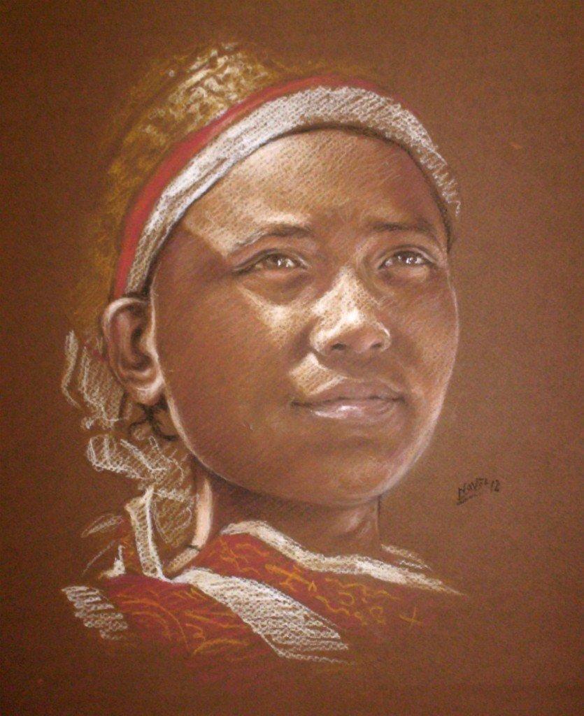 Ethiopienne pensive dans peuples d'Afrique HPIM09271-835x1024
