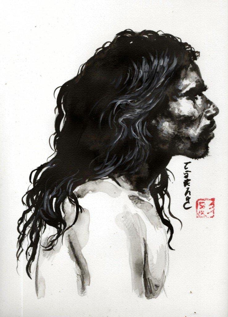 Aborigène dans Estampes & encres b436-738x1024