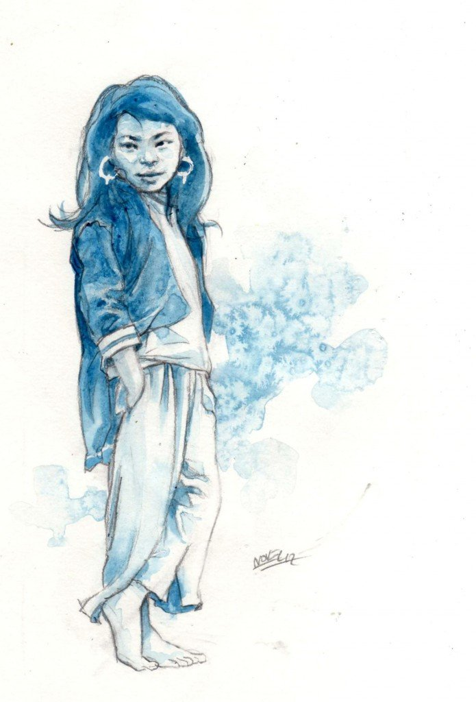 Jeune Méo dans peuples d'Asie b457-695x1024