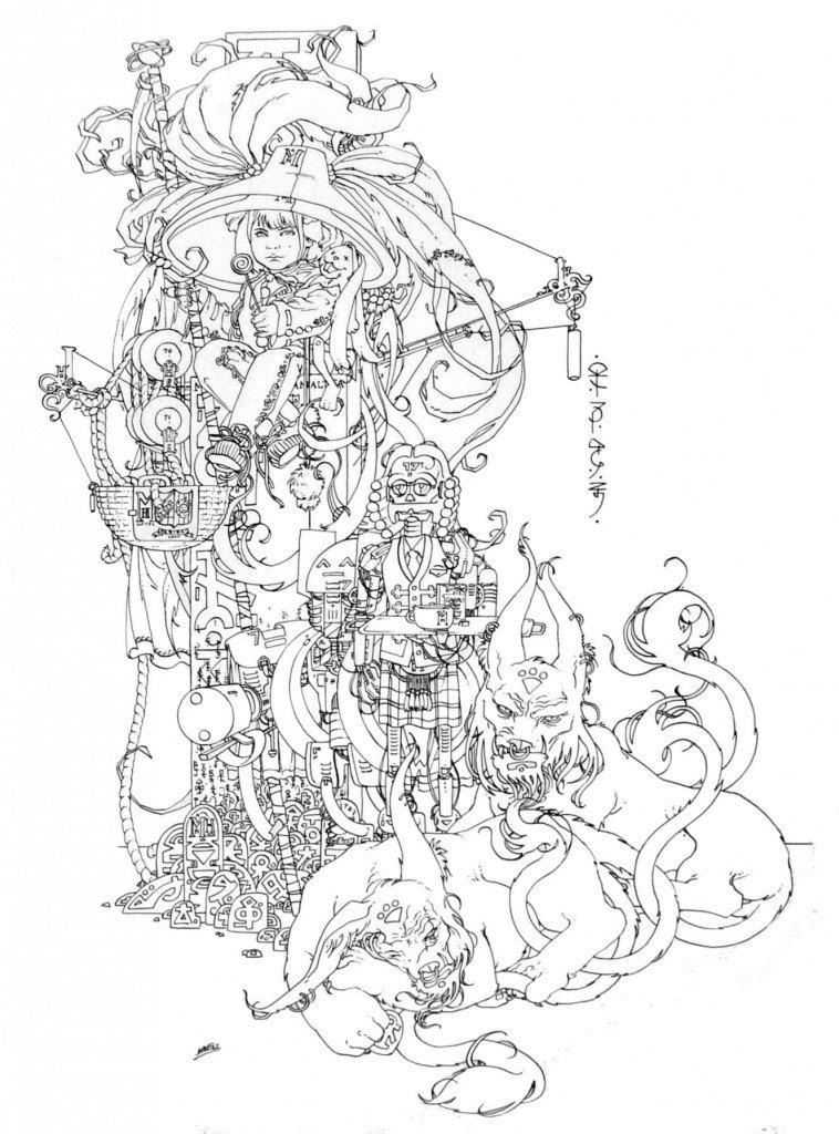 1887 : Infante de la dynastie des Habsbourg espagnols des lunes galiléennes de Jupiter, Maria Margarita Almatéa dans 1887, uchronie en bande-dessinée HPIM0026e-758x1024