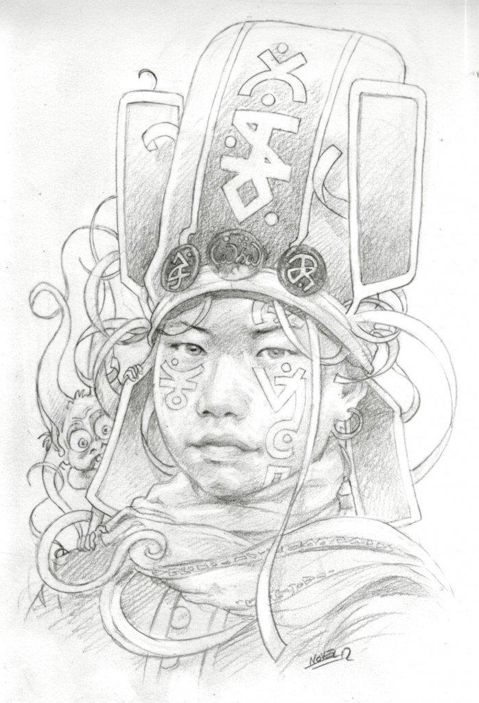 1887 : jeune officier du troisième bölük de Janissaires de Cressida, neuvième Lune d'Uranus, protectorat de l'Empire Ottoman dans 1887, uchronie en bande-dessinée b529-698x1024