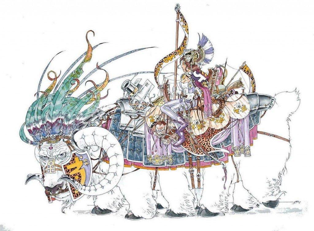 Capitaine de la cavalerie lourde de la garde prétorienne amazone de Venus, bataille des hauts-plateaux de Tessera Fortuna, 12 janvier 1885 dans 1887, uchronie en bande-dessinée hpim0164a5-1024x755