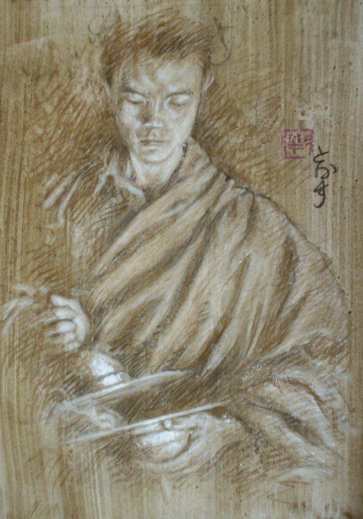 Novice bouthanais dans peuples d'Asie hpim0176a-716x1024