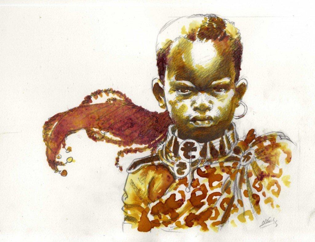 1887 : Chaka Isandhlwana III, fils du roi zoulou Cetshwayo, prince-régent d'Umbriel, 2ème lune d'Uranus dans 1887, uchronie en bande-dessinée b569-1024x788