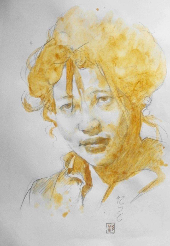 Femme mandchoue dans peuples d'Asie p3070078-709x1024