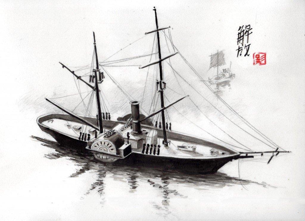 Steamer dans gens de mer et bateaux b602-1024x744