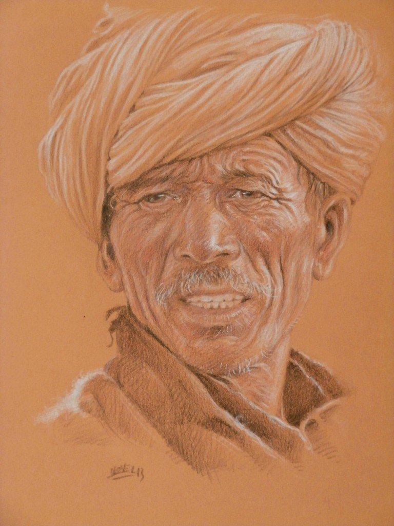 Homme des Hauts plateaux dans peuples des neiges p9280053-768x1024